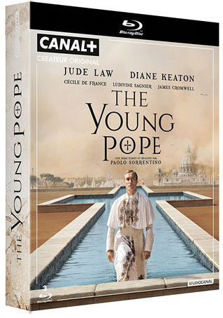 coffret-The-Young-Pope-Blu-ray-serie-Jude-Law-keaton-de-france