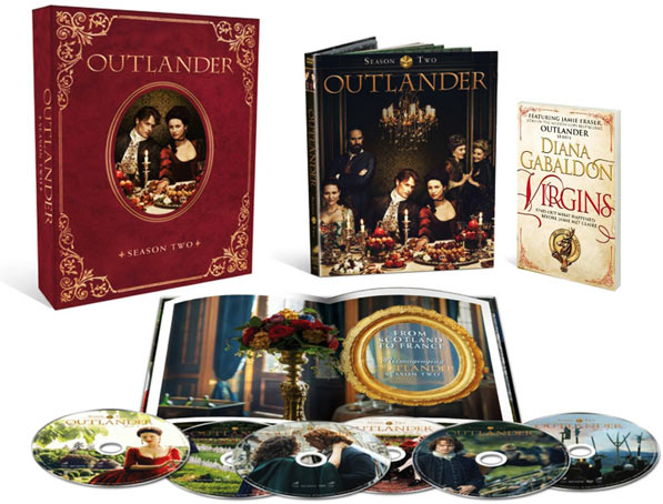 outlander int grale s rie coffret blu ray dvd saison. Black Bedroom Furniture Sets. Home Design Ideas