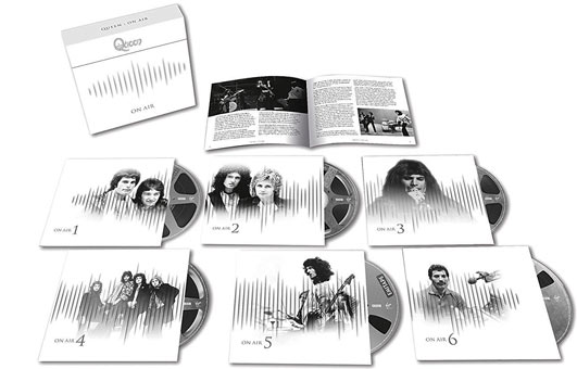 Queen-on-air-coffret-collector-6-CD-3-Vinyle-LP