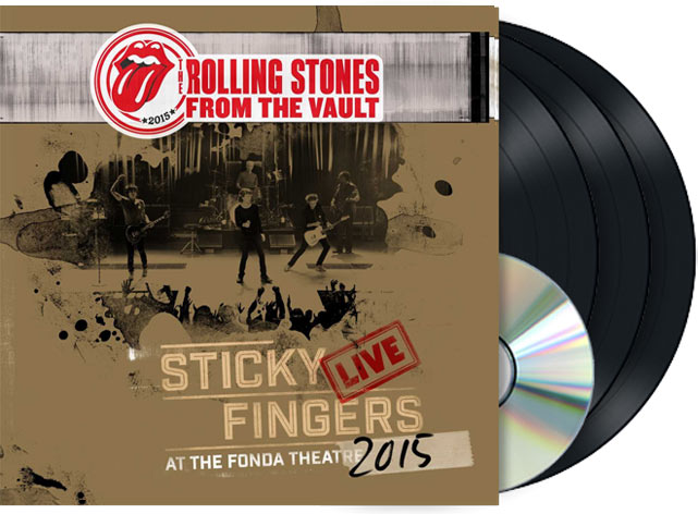 The Rolling Stones Sticky Fingers 233 Dition Limit 233 E Live