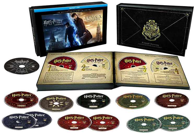 harry potter 20 ans 20th anniversary dition collector limit e. Black Bedroom Furniture Sets. Home Design Ideas