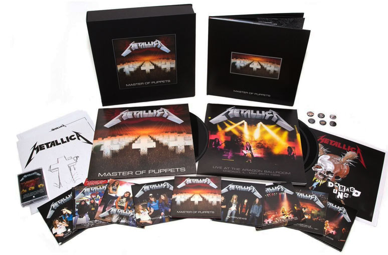 Metallica Master Of Puppets Coffret Collector Limit 233 E