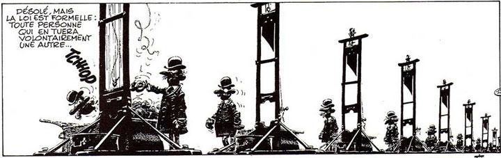 [LE TOPIC A LA CON] le dernier qui poste... poste - Page 27 Idees-noires-franquin-la-guillotine