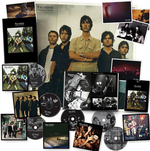 The Verve Urban Hymns Coffret Collector Limit 233 E Deluxe Cd
