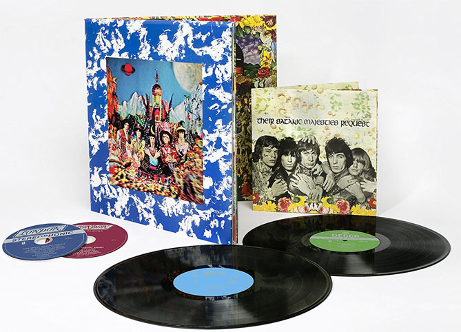 Rolling Stones Coffret Collector Their Satanic Majesties