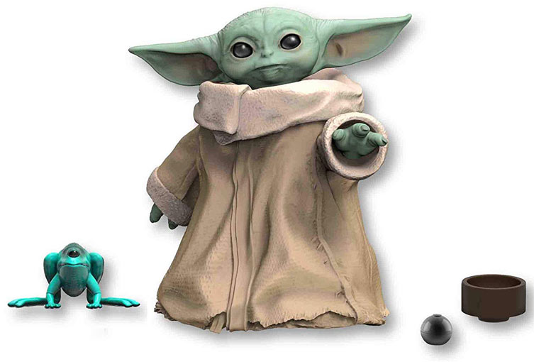 baby yoda black series star wars collector