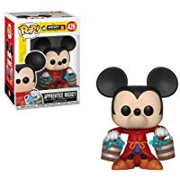 mickey magicien