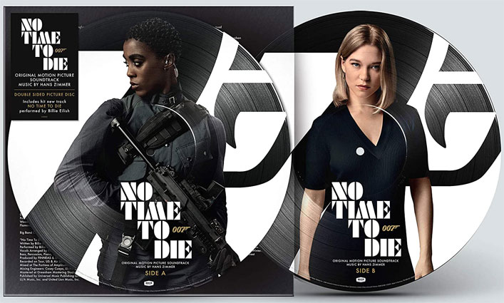 bande originale ost soundtrack no time to die vinyle picture disc