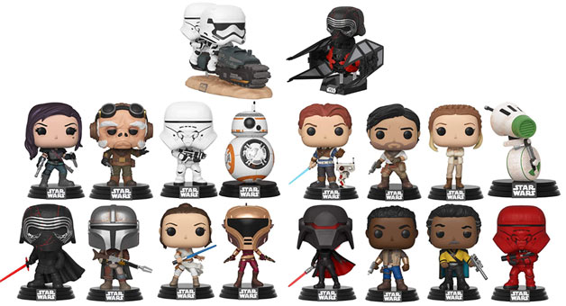Funko pop star wars episode 9 2019 nouveaute collector
