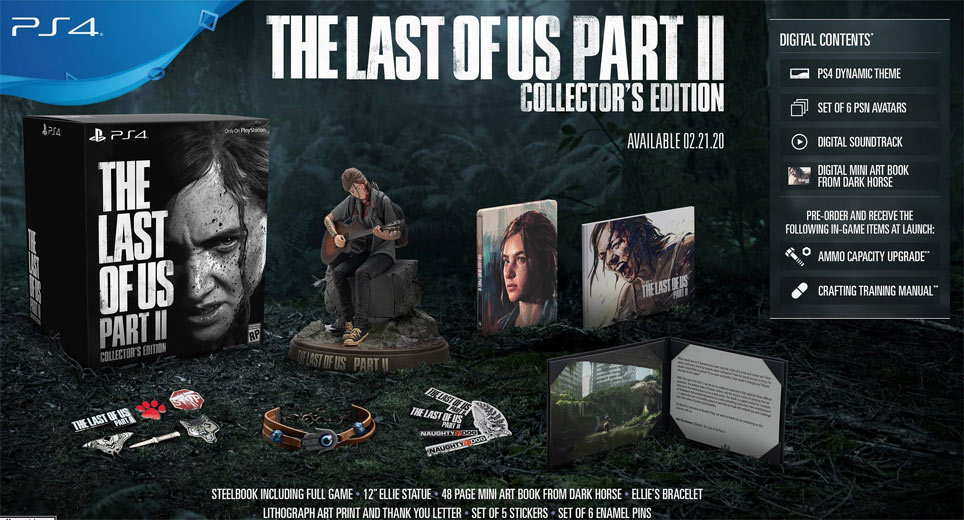 last of us part 2 coffret collector PS4 2020