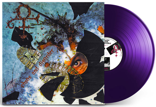 Prince Chaos and Disorder vinyle LP ediiton limitee