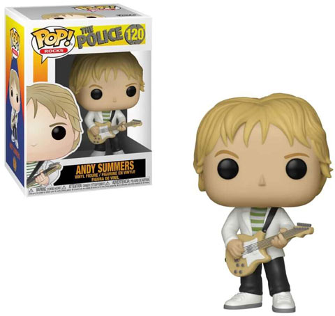 Figurine funko the police Andy Summer groupe rocks