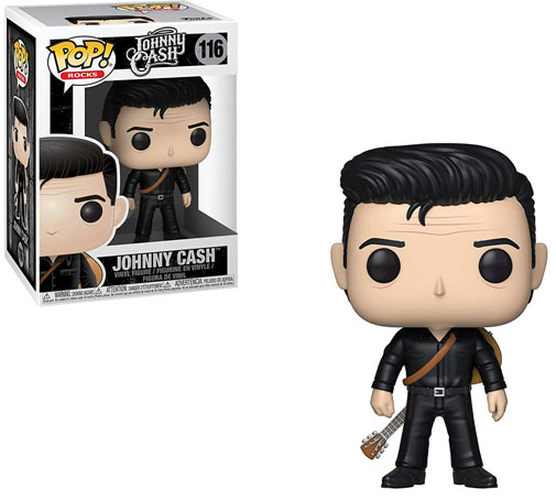 Funko Johnny Cash figurine pop rocks 2019