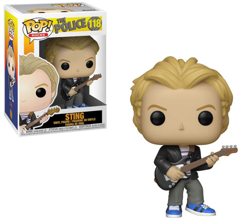 Funko POP Sting the police figurines rocks 2019