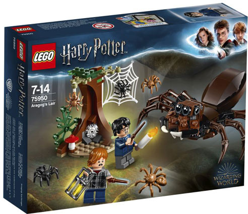 Lego 75950 araigne aragog Harry Potter