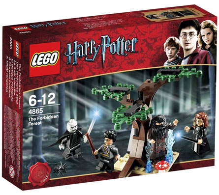 Lego Harry Potter 4865 lego de collection