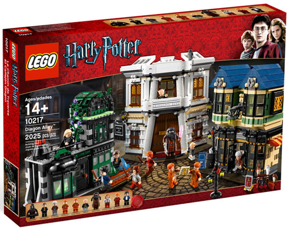 lego chemin de traverse Harry Potter diagon alley 10217