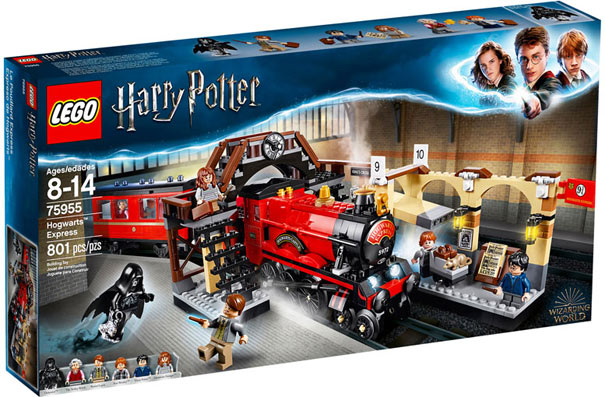 liste lego Harry Potter train collection poudlard