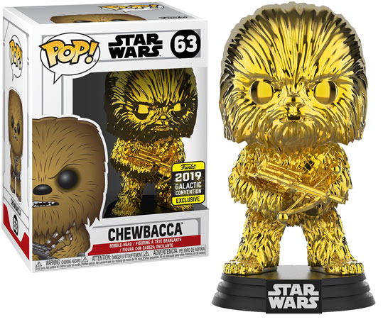 Figurine edition limitee star Wars Funko pop exclusive