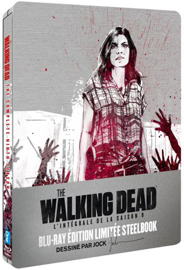 The walking dead saison 9 Steelbook Blu ray edition collector limitee 2019