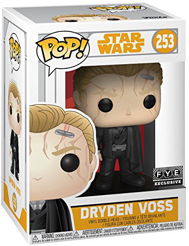 funko pop dryden voss editino exclusive 2019