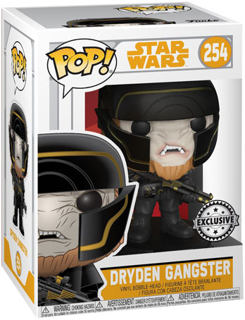 funko pop star wars exclusive Dryden Gangster