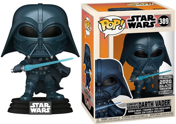 dark vador funko exclusive collector convention 2020