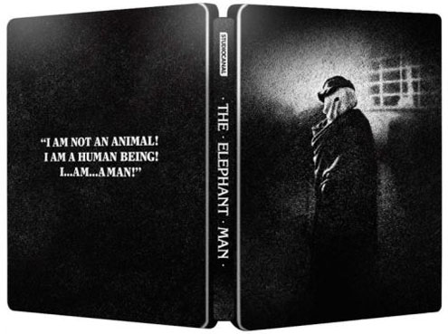 elephant man steelbook collector bluray dvd