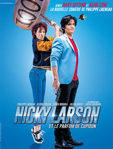 nicky larson film 2019 Blu ray DVD 4k edition collector philippe lacheau