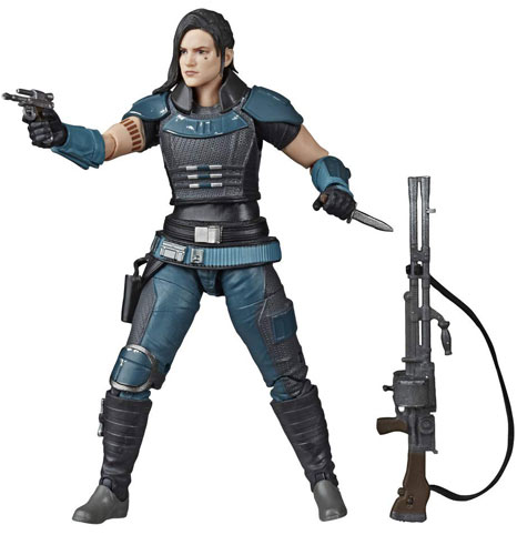 Cara Dune figurines collector black series star wars