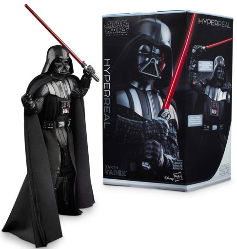 Dark Vador black series figurine collector