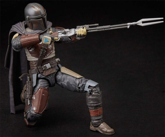 Figurine star wars mandalorian