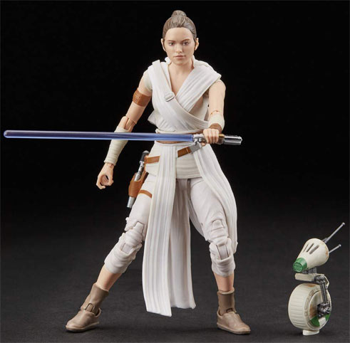Star wars figurine rey D 0 black series