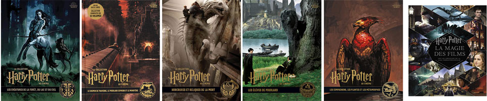 collection livre harry potter 2019 2020