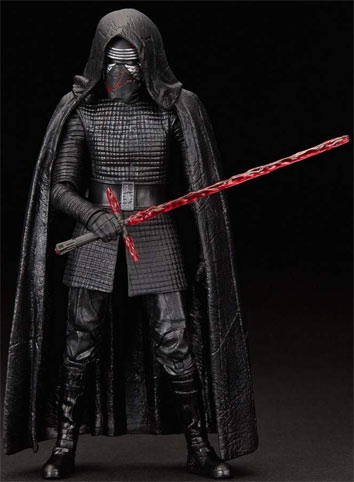 figurine black series kylo ren star wars episode 9