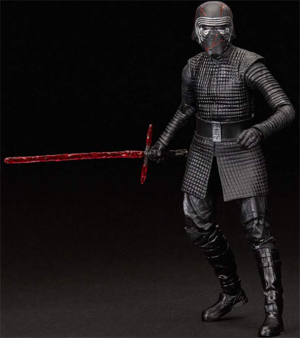 figurine black series star wars episode 9 Kylo ren