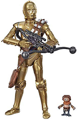 figurine c3po star wars 9 collector figure black series