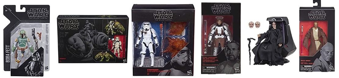 la collection black series star wars