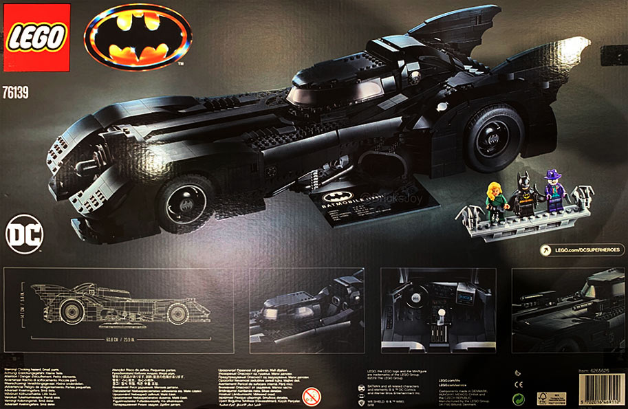 batmobile Lego ucs edition 2019 collector 76139